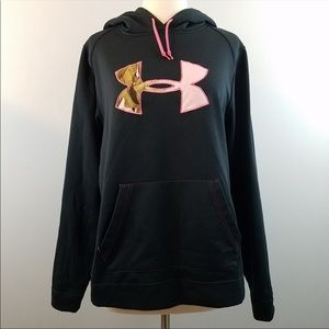 Under Armour ColdGear STORM Tackle Twill Hoodie L